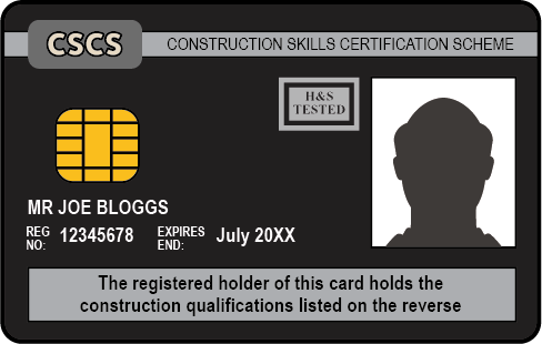 The Black CSCS Card