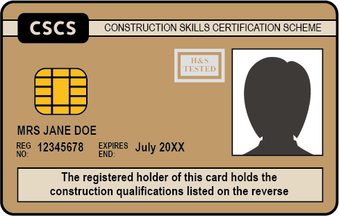 The Gold CSCS Card
