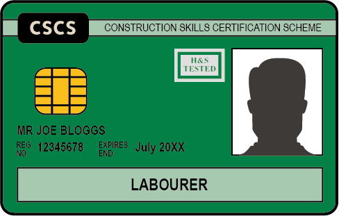 The Green CSCS Card