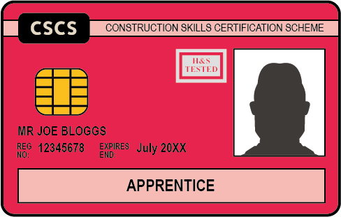 The Red CSCS Card