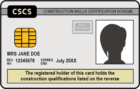 The White CSCS Card