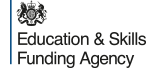 education skills funding agency logo