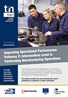 Manufacturing Intermediate Level in Performing Manufacturing Operations Flyer